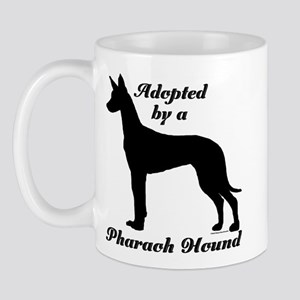 ADOPTED by Pharaoh Hound Mug