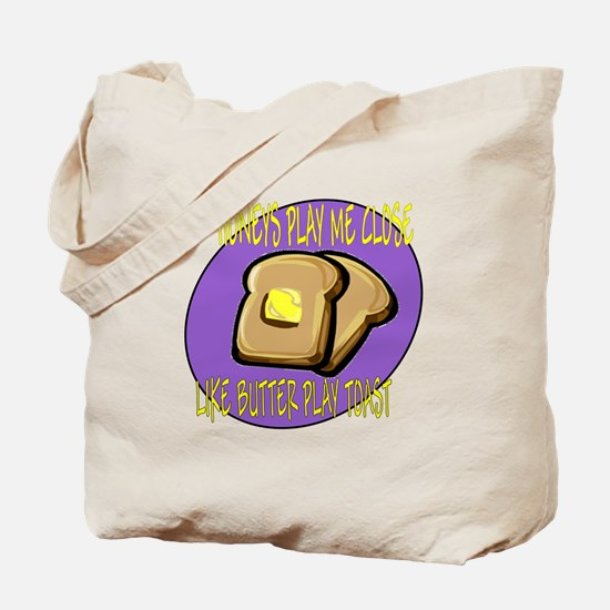 Notorious Buttered Toast Tote Bag