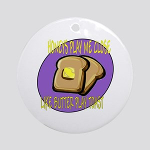 Notorious Buttered Toast Ornament (Round)
