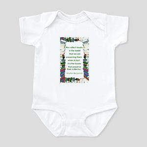 Walter Benjamin on Books Infant Bodysuit