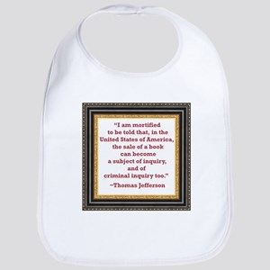 Thomas Jefferson on book sale Bib