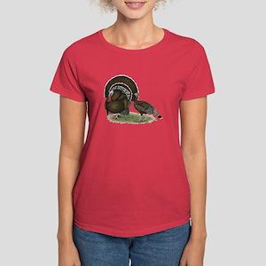 Turkey Standard Bronze Women's Dark T-Shirt