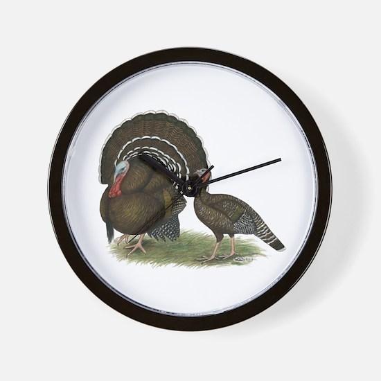 Turkey Standard Bronze Wall Clock