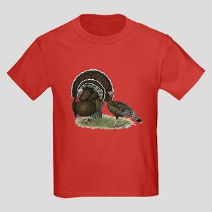 Turkey Standard Bronze Kids Dark T-Shirt