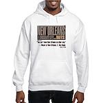 NOLA: A Chocolate City Hooded Sweatshirt