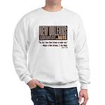 NOLA: A Chocolate City Sweatshirt