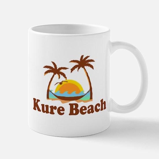Kure Beach NC - Beach Design Mug