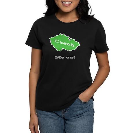 Czeck me out Women's Dark T-Shirt