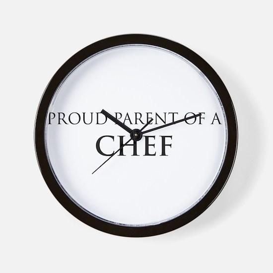 Proud Parent: Chef Wall Clock