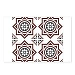 Portuguese tiles 2 - Igreja do Carmo Postcards (Pa