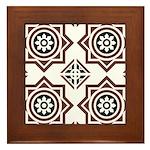 Portuguese tiles 2 - Igreja do Carmo Framed Tile