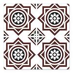 Portuguese tiles 2 - Igreja do Carmo Square Car Ma