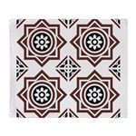 Portuguese tiles 2 - Igreja do Carmo Throw Blanket