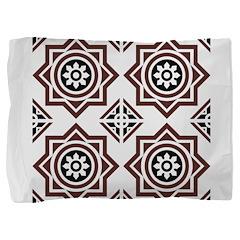Portuguese tiles 2 - Igreja do Carmo Pillow Sham
