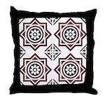 Portuguese tiles 2 - Igreja do Carmo Throw Pillow