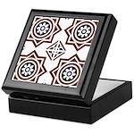 Portuguese tiles 2 - Igreja do Carmo Keepsake Box