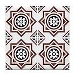 Portuguese tiles 2 - Igreja do Carmo Tile Coaster