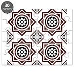 Portuguese tiles 2 - Igreja do Carmo Puzzle