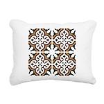 Portuguese tiles 3 Rectangular Canvas Pillow