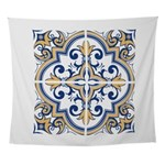 Portuguese tiles 1 Wall Tapestry