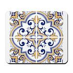 Portuguese tiles 1 Mousepad