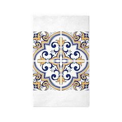 Portuguese tiles 1 Area Rug