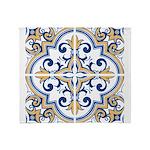 Portuguese tiles 1 Throw Blanket