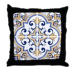 Portuguese tiles 1 Throw Pillow