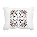 Portuguese tiles 1 Rectangular Canvas Pillow