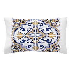 Portuguese tiles 1 Pillow Case