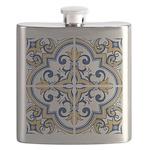 Portuguese tiles 1 Flask