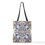 Portuguese tiles 1 Polyester Tote Bag