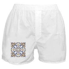 Portuguese tiles 1 Boxer Shorts