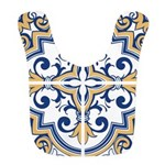 Portuguese tiles 1 Polyester Baby Bib