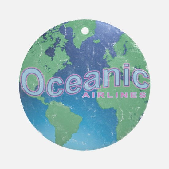 Lost - Oceanic Airlines Ornament (Round)