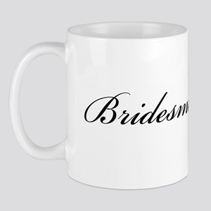 Bridesmaid (Formal Font) Mug