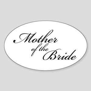 Mother of the Bride (FF) Oval Sticker