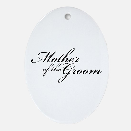 Mother of the Groom (FF) Oval Ornament
