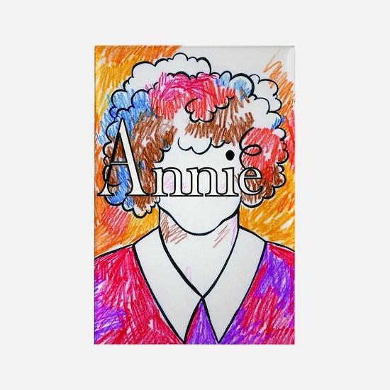 StDT Annie Rectangle Magnet