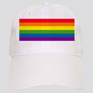 """Gay and Lesbian Pride Rainbow"" Cap"