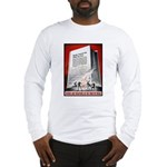 Books Are Weapons Poster (Front) Long Sleeve T-Shi
