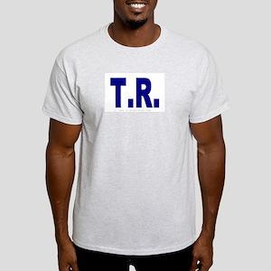 T.R. (Teddy Roosevelt) Ash Grey T-Shirt