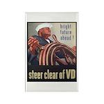 Steer Clear of VD Poster Art Rectangle Magnet