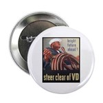 Steer Clear of VD Poster Art Button