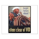 Steer Clear of VD Poster Art Small Poster