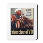 Steer Clear of VD Poster Art Mousepad