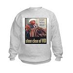 Steer Clear of VD Poster Art Kids Sweatshirt