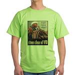 Steer Clear of VD Poster Art Green T-Shirt