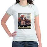 Steer Clear of VD Poster (Front) Jr. Ringer T-Shir