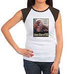 Steer Clear of VD Poster Art Women's Cap Sleeve T-